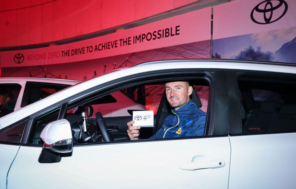 Medaliații români de la Tokyo au fost premiați cu modele Toyota hibrid - Poza 18