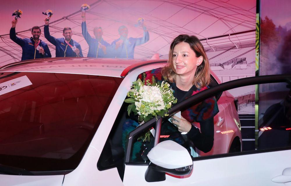 Medaliații români de la Tokyo au fost premiați cu modele Toyota hibrid - Poza 19