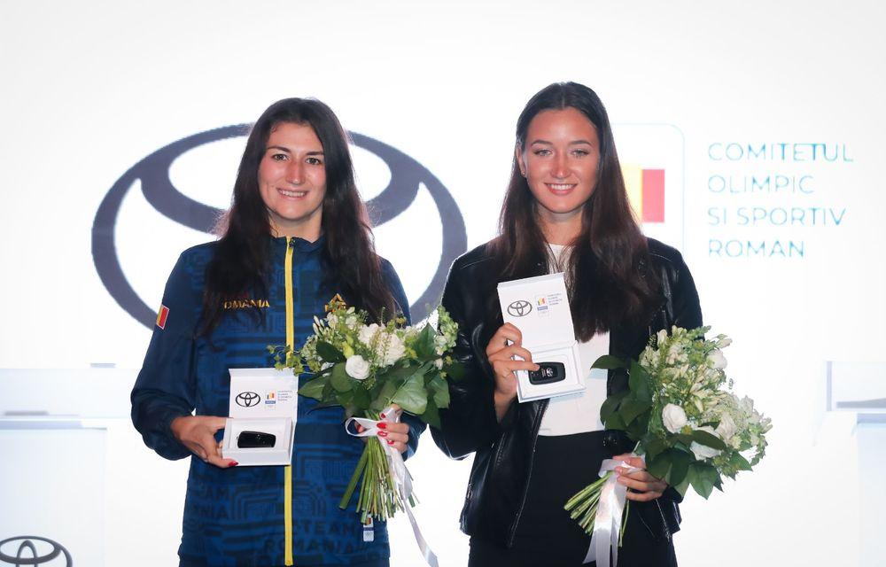 Medaliații români de la Tokyo au fost premiați cu modele Toyota hibrid - Poza 25