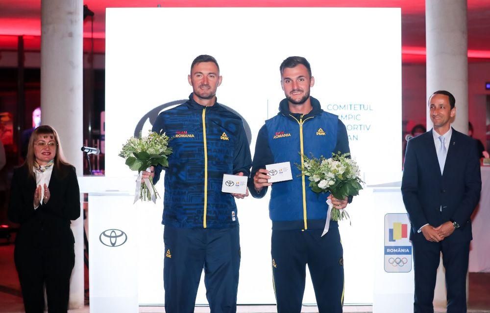 Medaliații români de la Tokyo au fost premiați cu modele Toyota hibrid - Poza 26