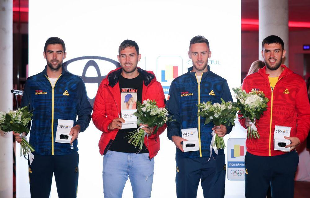Medaliații români de la Tokyo au fost premiați cu modele Toyota hibrid - Poza 27