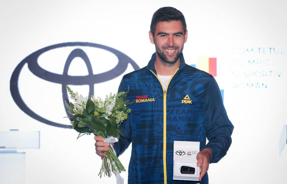 Medaliații români de la Tokyo au fost premiați cu modele Toyota hibrid - Poza 28