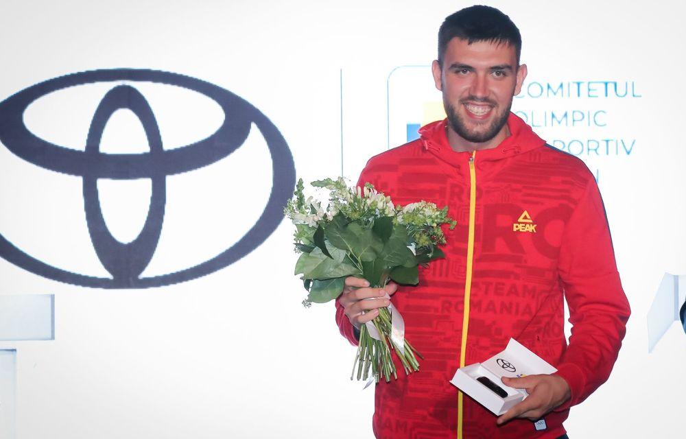 Medaliații români de la Tokyo au fost premiați cu modele Toyota hibrid - Poza 31