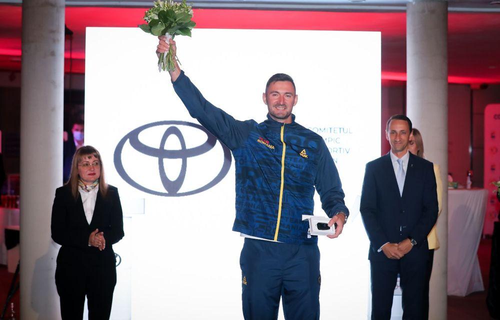 Medaliații români de la Tokyo au fost premiați cu modele Toyota hibrid - Poza 32