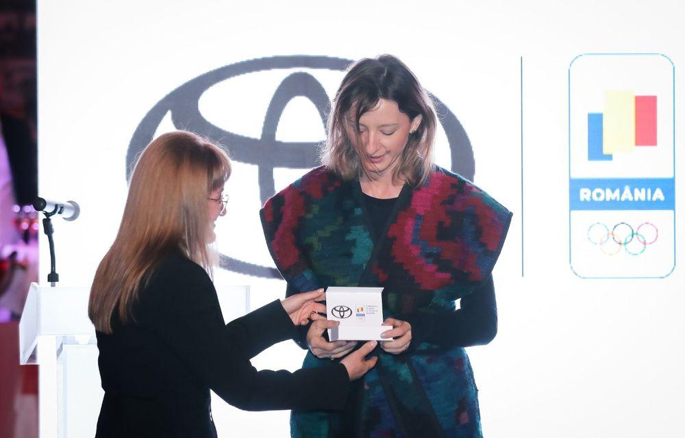 Medaliații români de la Tokyo au fost premiați cu modele Toyota hibrid - Poza 35