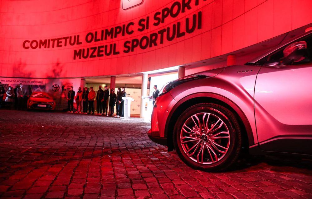 Medaliații români de la Tokyo au fost premiați cu modele Toyota hibrid - Poza 6