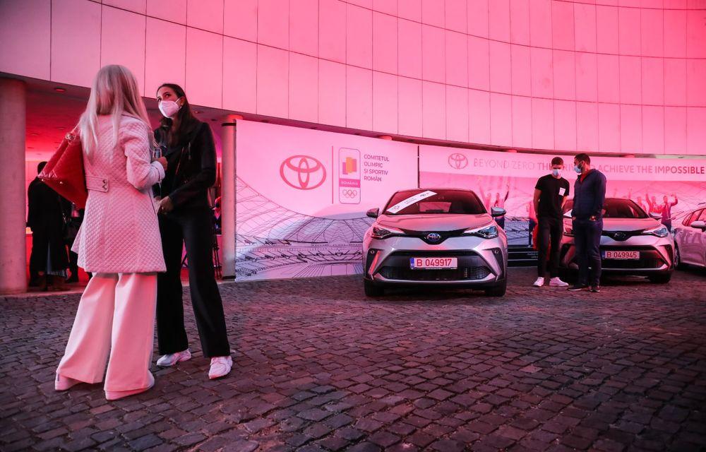 Medaliații români de la Tokyo au fost premiați cu modele Toyota hibrid - Poza 5