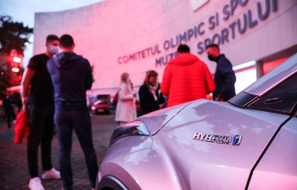 Medaliații români de la Tokyo au fost premiați cu modele Toyota hibrid - Poza 46