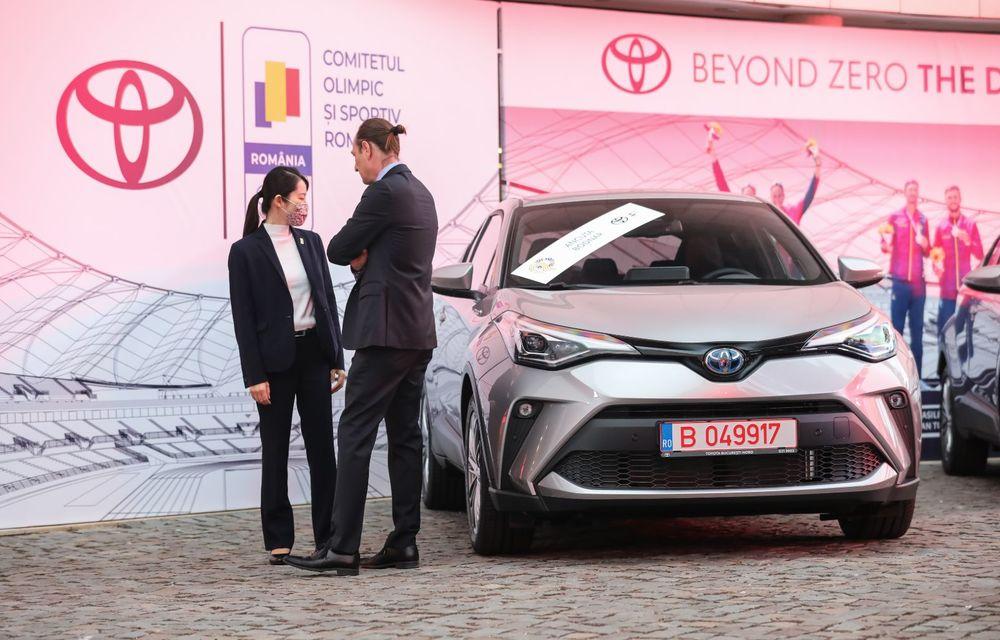 Medaliații români de la Tokyo au fost premiați cu modele Toyota hibrid - Poza 3