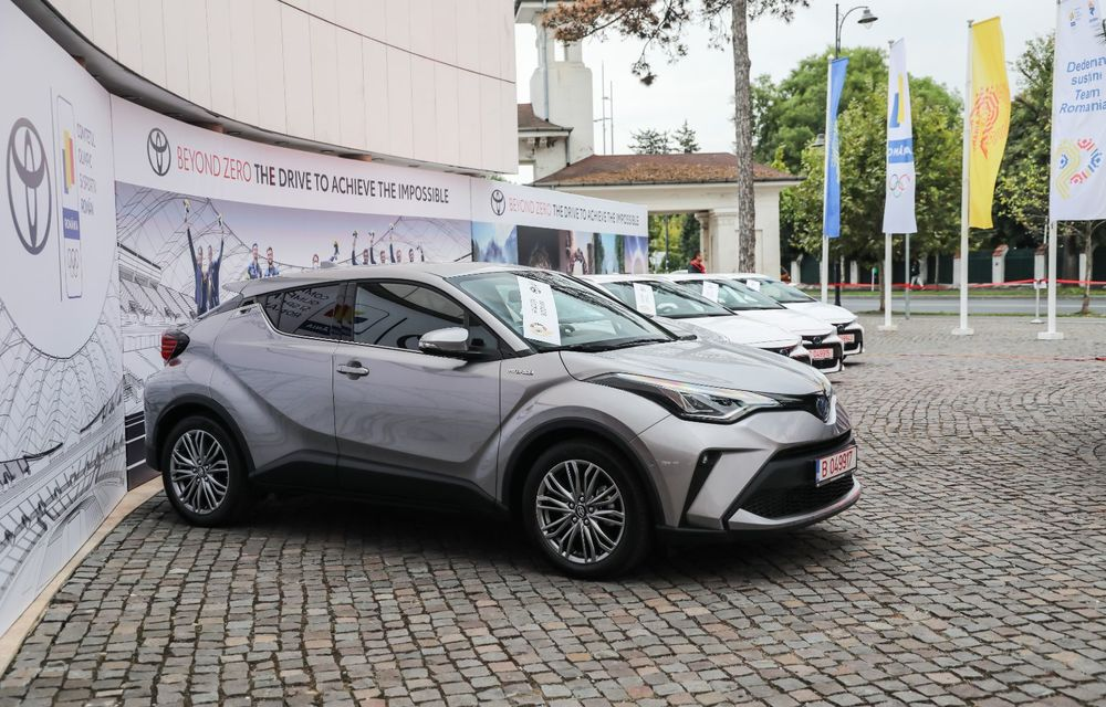 Medaliații români de la Tokyo au fost premiați cu modele Toyota hibrid - Poza 2