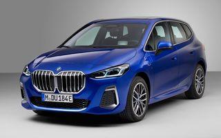 Noua generație BMW Seria 2 Active Tourer: ecrane curbate ca la iX și până la 218 CP