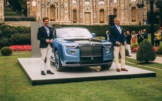Unicul Rolls-Royce Boat Tail, debut public la Concursul de Eleganță Villa d'Este