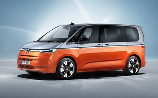 Noua generație Volkswagen Multivan a intrat în producție