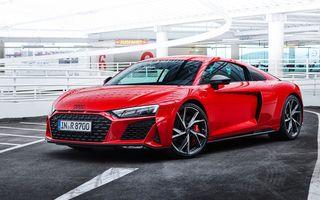 Noul Audi R8 V10 Performance RWD: roți motrice spate și 570 de cai putere