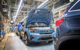 Volvo anunță startul producției SUV-ului electric C40 Recharge