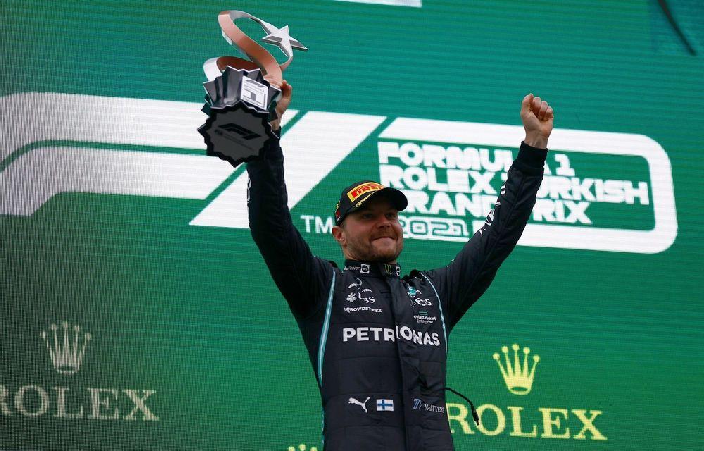 Valtteri Bottas, victorie în Turcia. Max Verstappen preia din nou conducerea în clasamentul piloților - Poza 1