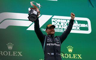 Valtteri Bottas, victorie în Turcia. Max Verstappen preia din nou conducerea în clasamentul piloților