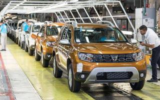 Producția auto națională după primele 9 luni: creștere de aproape 7% pentru Dacia