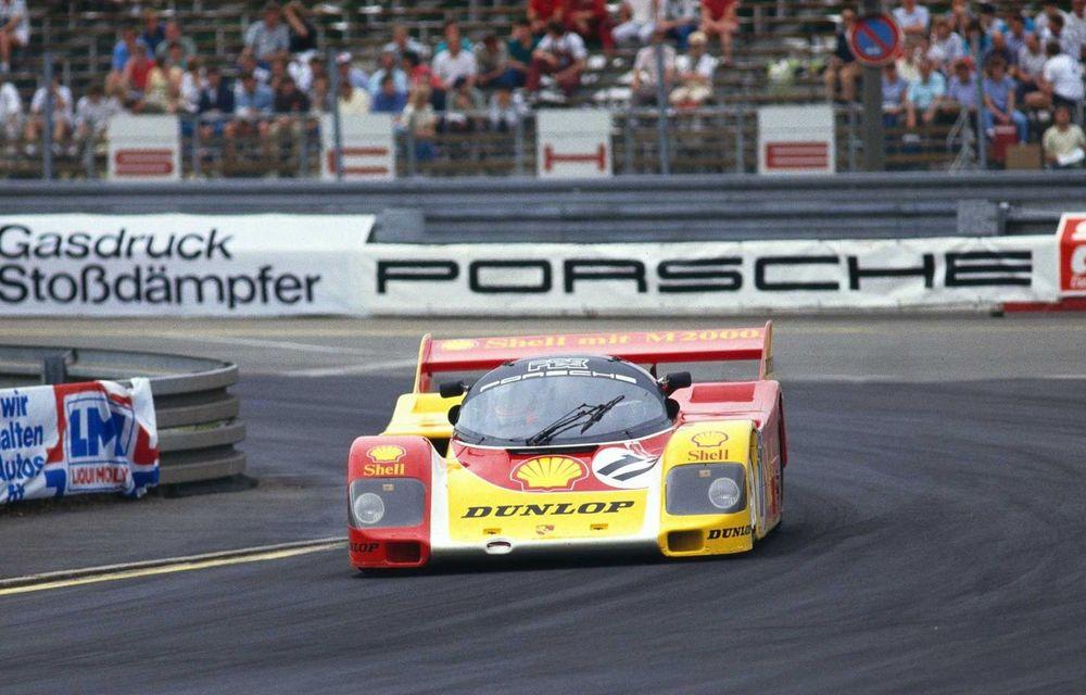 Porsche a restaurat un 962 C care a concurat ultima oară în 1987 - Poza 24