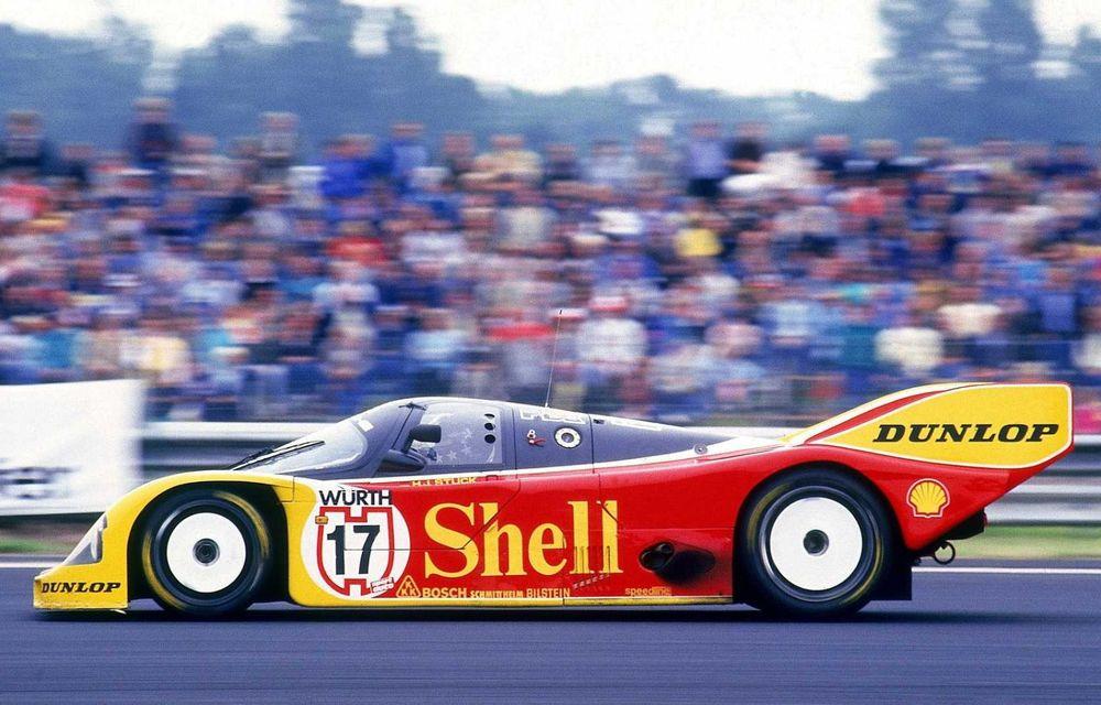 Porsche a restaurat un 962 C care a concurat ultima oară în 1987 - Poza 25