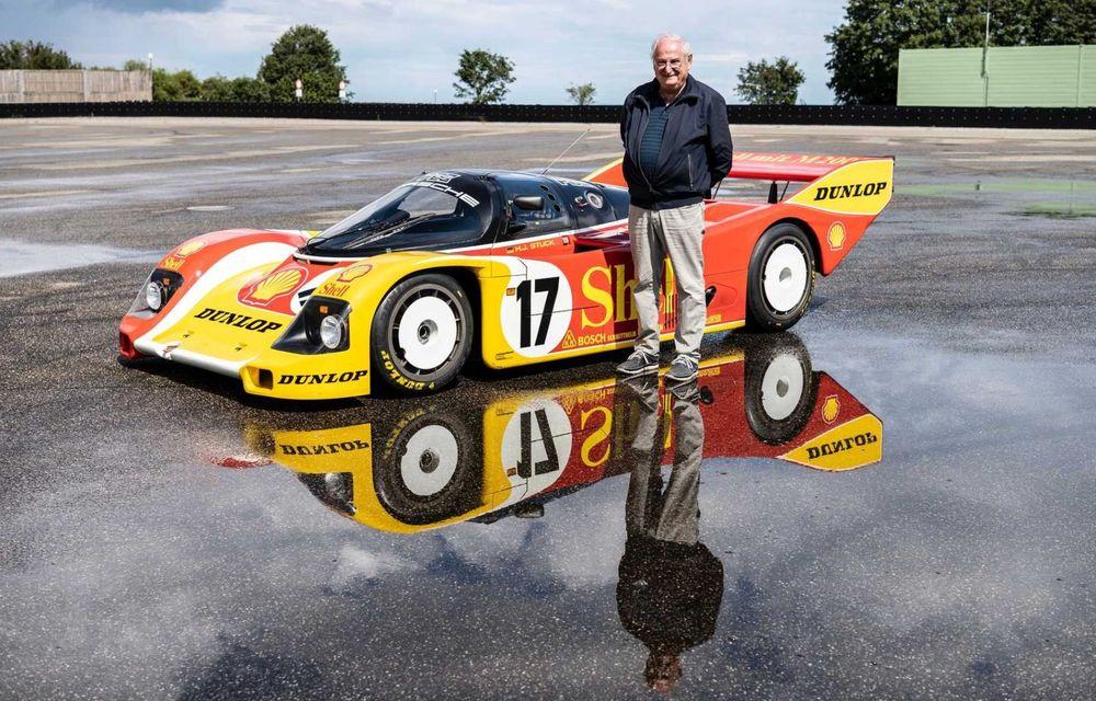 Porsche a restaurat un 962 C care a concurat ultima oară în 1987 - Poza 21