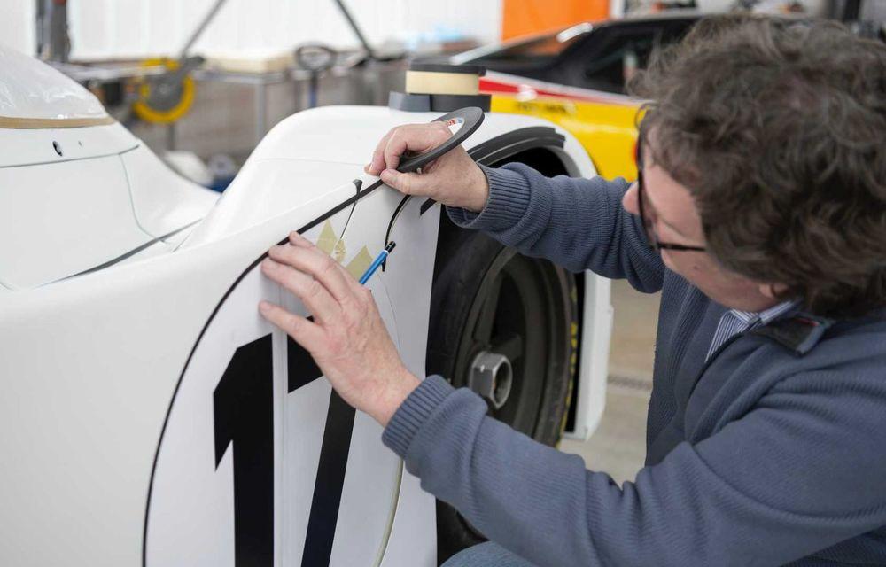 Porsche a restaurat un 962 C care a concurat ultima oară în 1987 - Poza 8