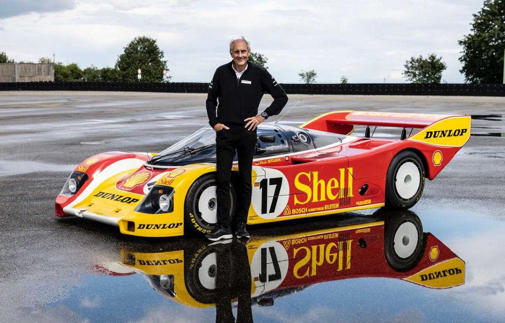 Porsche a restaurat un 962 C care a concurat ultima oară în 1987 - Poza 1