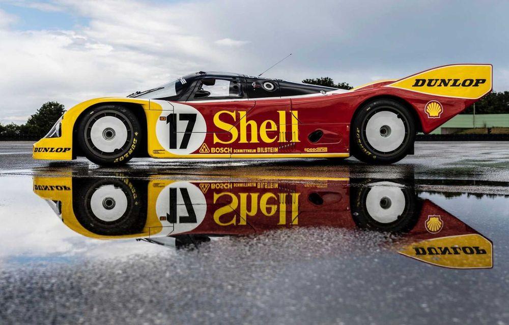 Porsche a restaurat un 962 C care a concurat ultima oară în 1987 - Poza 16