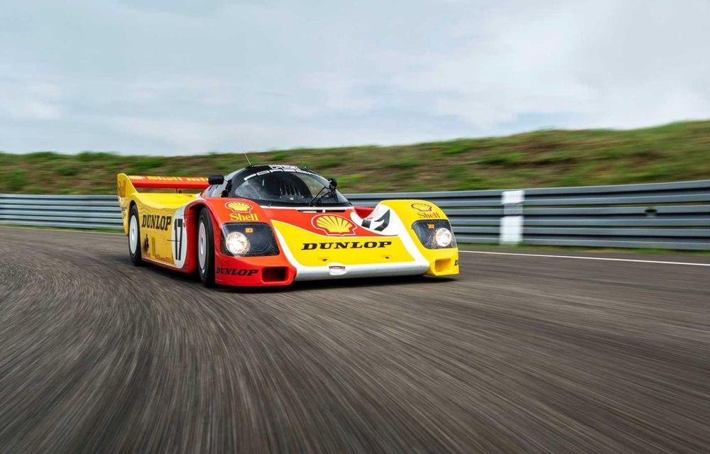 Porsche a restaurat un 962 C care a concurat ultima oară în 1987 - Poza 17