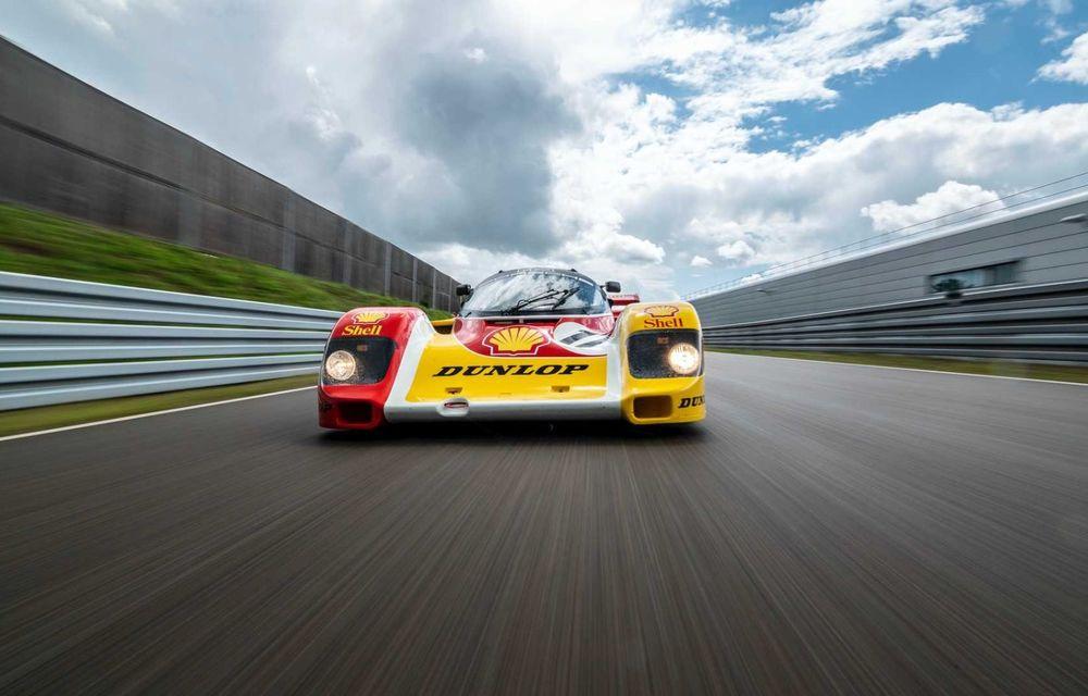 Porsche a restaurat un 962 C care a concurat ultima oară în 1987 - Poza 18