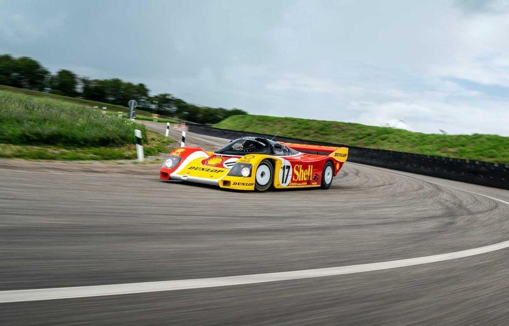 Porsche a restaurat un 962 C care a concurat ultima oară în 1987 - Poza 19