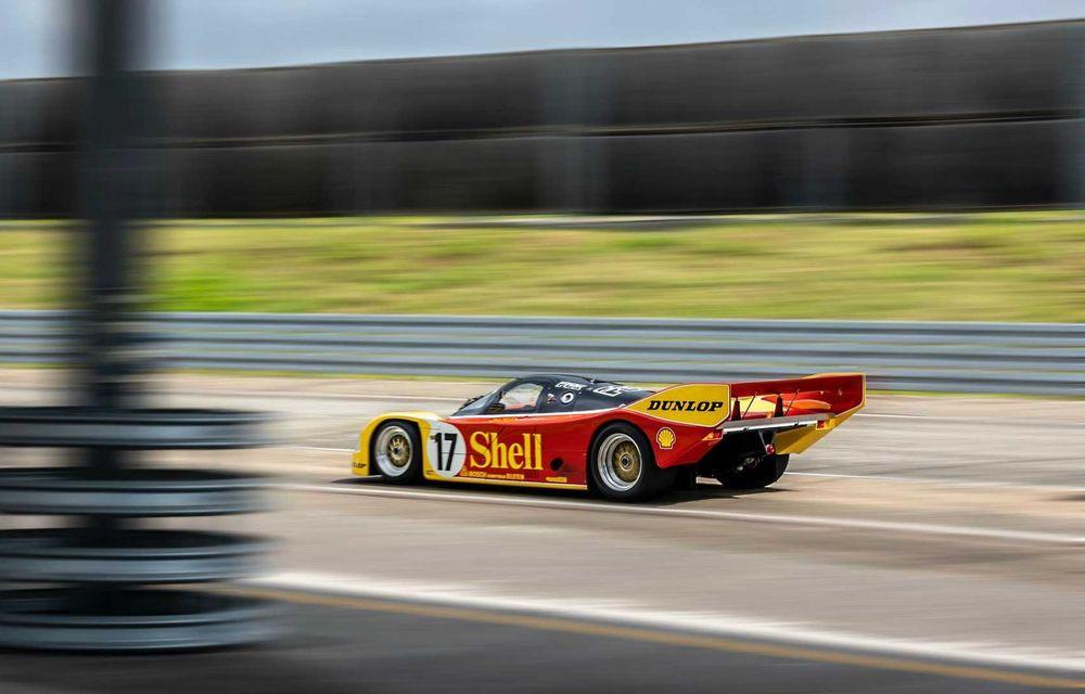 Porsche a restaurat un 962 C care a concurat ultima oară în 1987 - Poza 20
