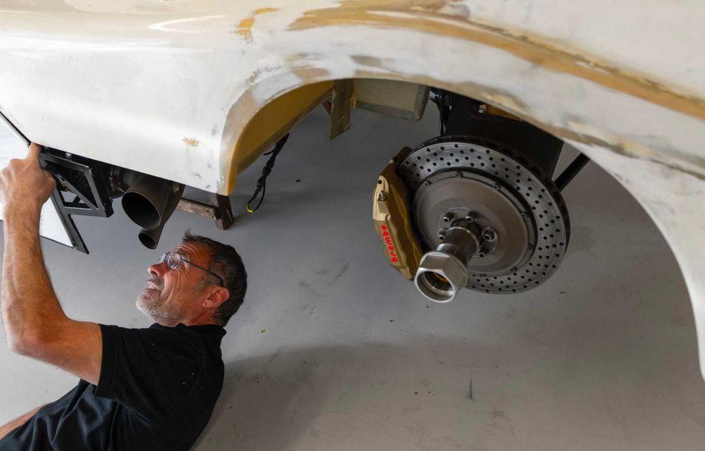 Porsche a restaurat un 962 C care a concurat ultima oară în 1987 - Poza 11