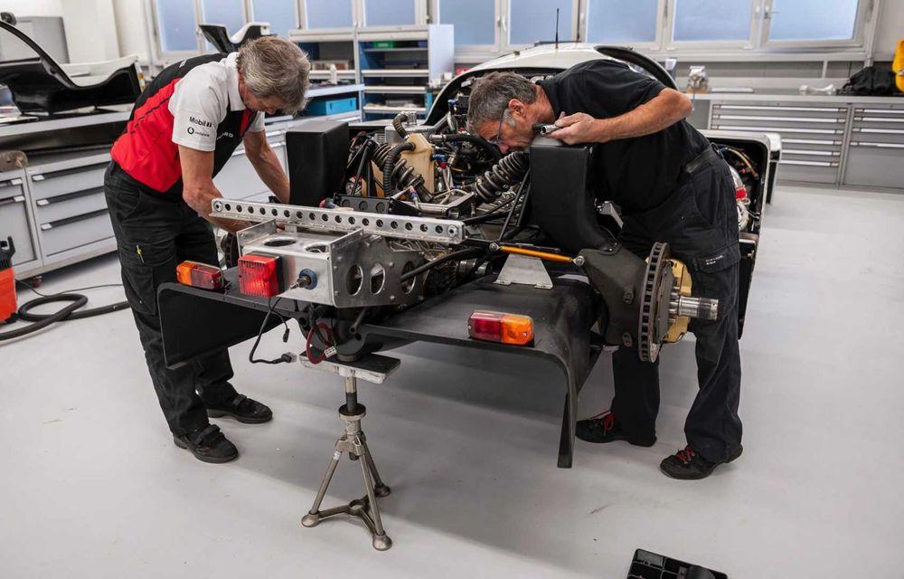 Porsche a restaurat un 962 C care a concurat ultima oară în 1987 - Poza 2