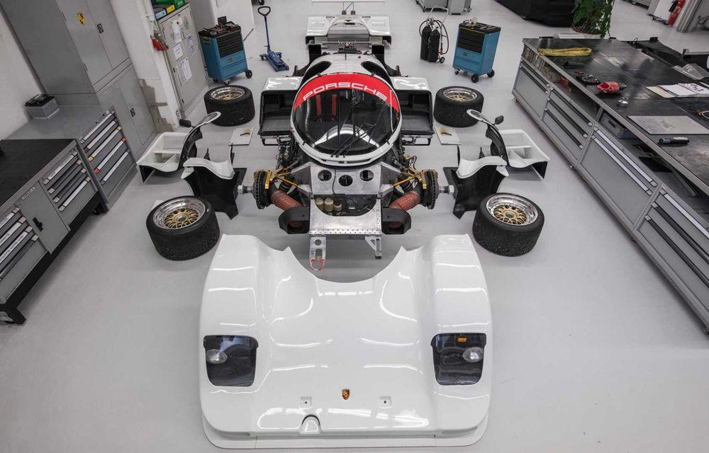 Porsche a restaurat un 962 C care a concurat ultima oară în 1987 - Poza 3