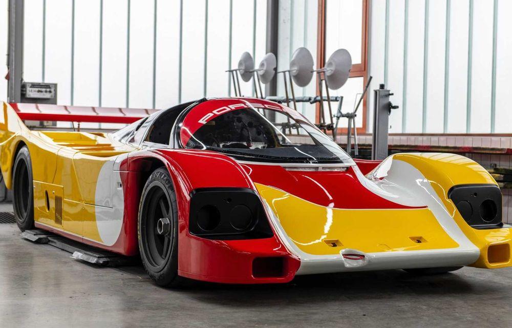 Porsche a restaurat un 962 C care a concurat ultima oară în 1987 - Poza 14