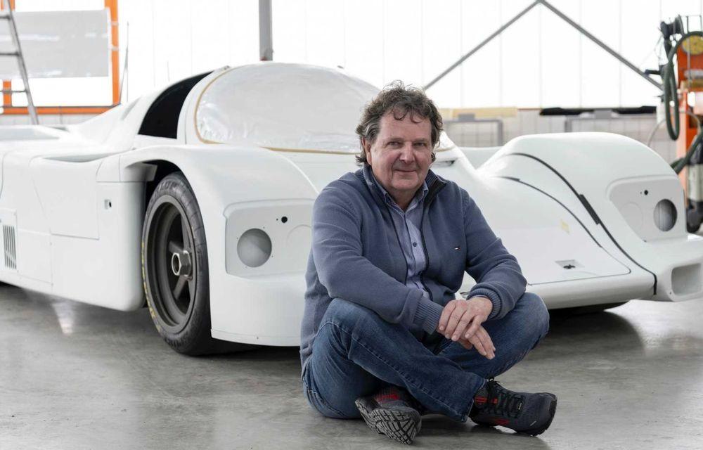 Porsche a restaurat un 962 C care a concurat ultima oară în 1987 - Poza 6