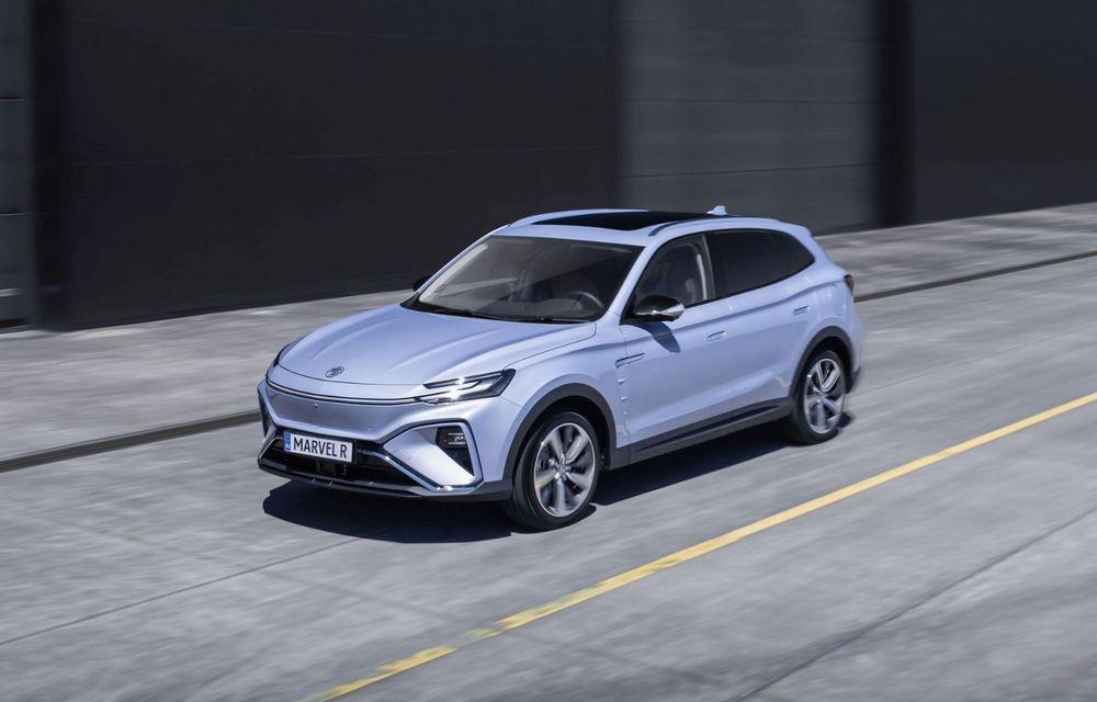 Rival pentru Volkswagen ID.4: MG Marvel R Electric pornește de la 40.000 de euro în Europa - Poza 1