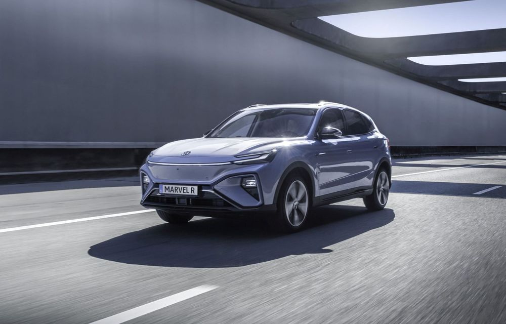 Rival pentru Volkswagen ID.4: MG Marvel R Electric pornește de la 40.000 de euro în Europa - Poza 2