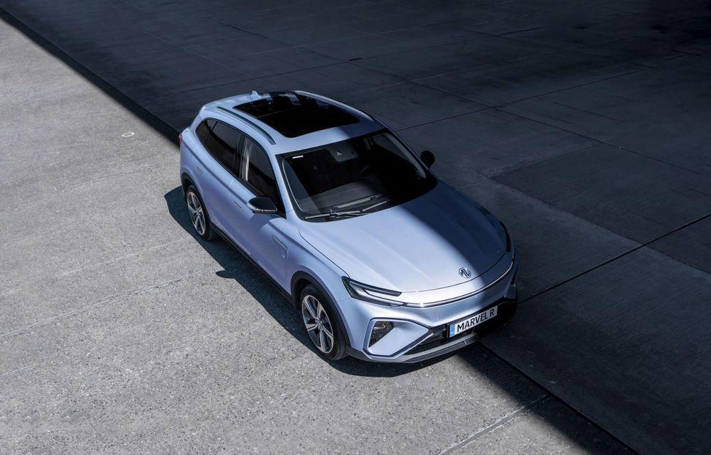 Rival pentru Volkswagen ID.4: MG Marvel R Electric pornește de la 40.000 de euro în Europa - Poza 3