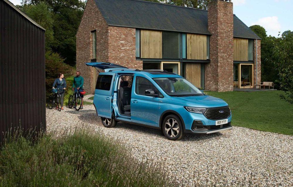 Noua generație Ford Tourneo Connect: două motorizări și, în premieră, tracțiune integrală - Poza 3