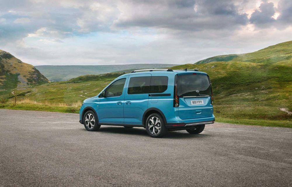 Noua generație Ford Tourneo Connect: două motorizări și, în premieră, tracțiune integrală - Poza 5