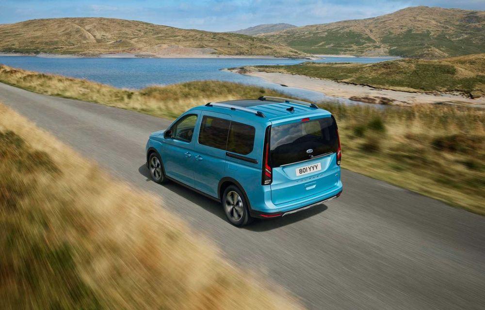 Noua generație Ford Tourneo Connect: două motorizări și, în premieră, tracțiune integrală - Poza 7