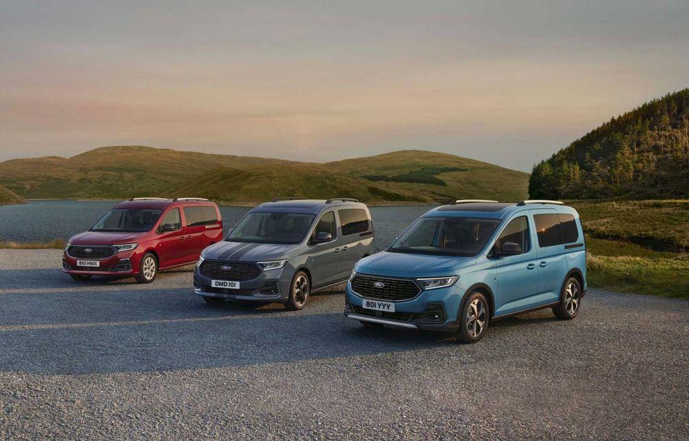 Noua generație Ford Tourneo Connect: două motorizări și, în premieră, tracțiune integrală - Poza 2