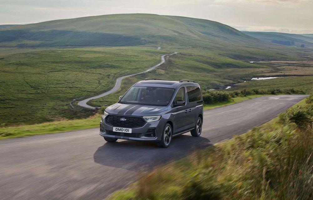 Noua generație Ford Tourneo Connect: două motorizări și, în premieră, tracțiune integrală - Poza 8