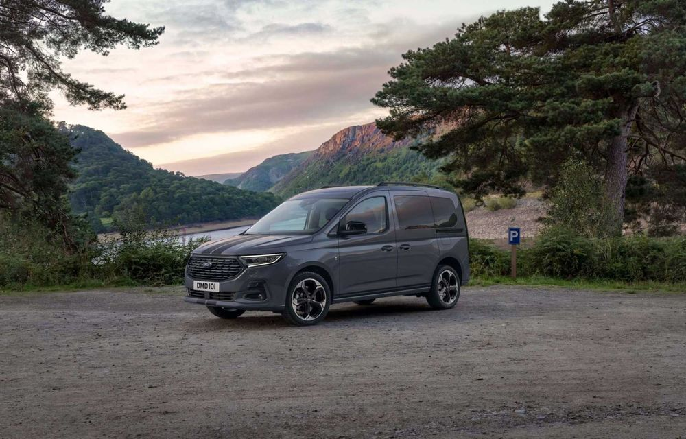 Noua generație Ford Tourneo Connect: două motorizări și, în premieră, tracțiune integrală - Poza 9