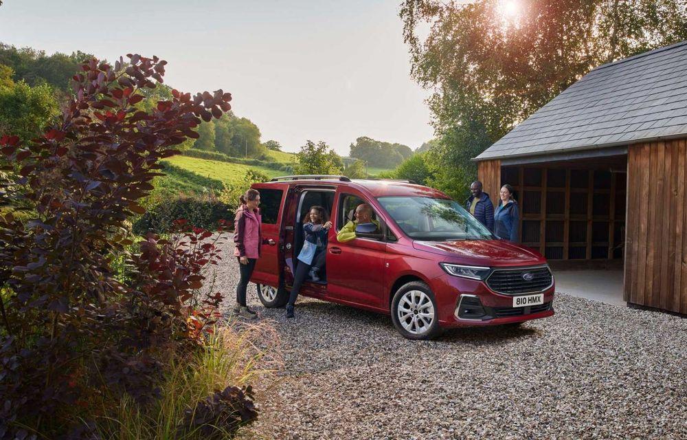 Noua generație Ford Tourneo Connect: două motorizări și, în premieră, tracțiune integrală - Poza 11