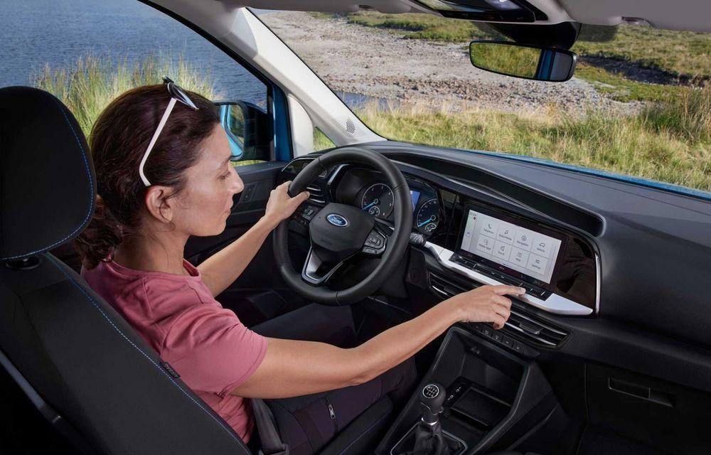 Noua generație Ford Tourneo Connect: două motorizări și, în premieră, tracțiune integrală - Poza 13