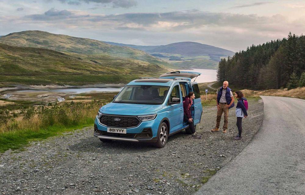 Noua generație Ford Tourneo Connect: două motorizări și, în premieră, tracțiune integrală - Poza 4