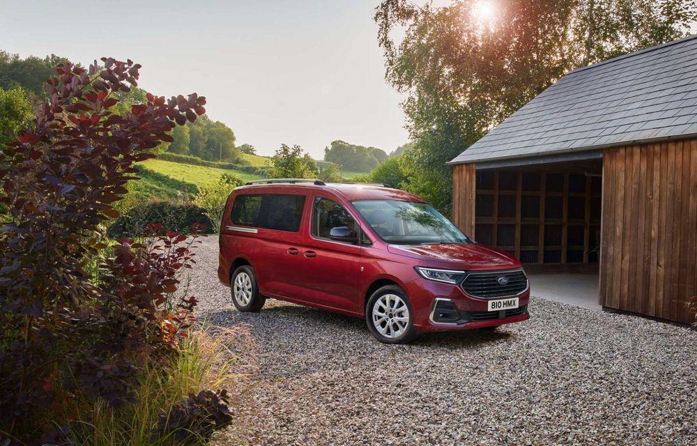 Noua generație Ford Tourneo Connect: două motorizări și, în premieră, tracțiune integrală - Poza 10